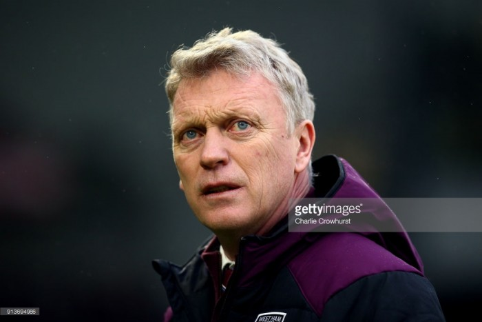 "David Moyes admits ""our performance didn't merit a result"" in drab defeat to Brighton"