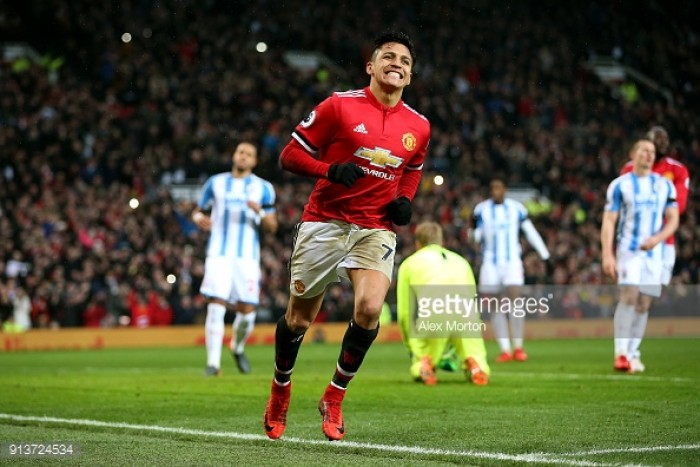 Manchester United 2-0 Huddersfield Town: Lukaku and Sanchez steer United to win