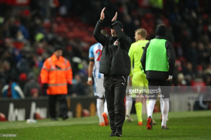David Wagner: Huddersfield Town working effort and commitment gives me hope