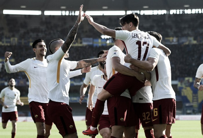 Fim do jejum: Roma bate Hellas Verona e volta a vencer após sete jogos
