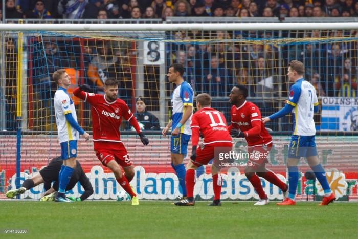 Eintracht Braunschweig 1-2 1. FC Kaiserslautern: Lukas Spalvis double earns Red Devils rare win