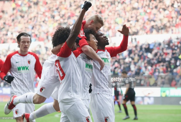 FC Augsburg 3-0 Eintracht Frankfurt: ‎Fuggerstädter comfortably dispatch the Eagles to keep their European hopes alive