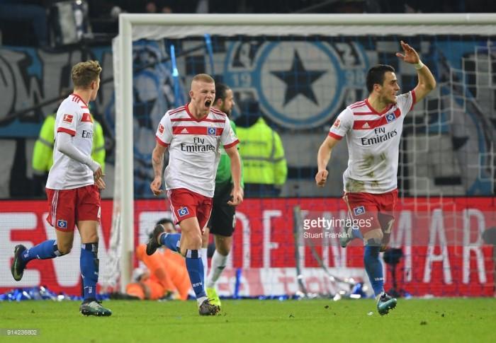 Hamburger SV 1-1 Hannover 96: Filip Kostic equaliser not enough to ease HSV relegation fears