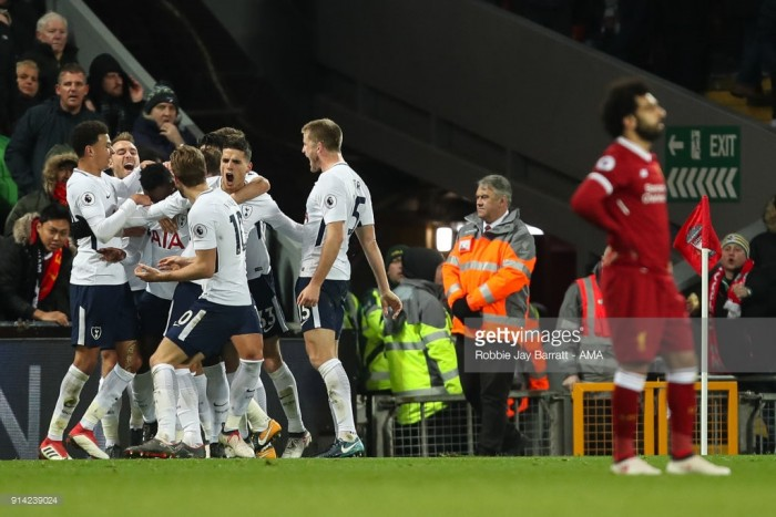 Analysis: Anfield point a boost for Spurs with NLD around the corner