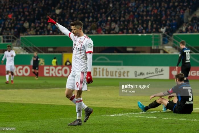 SC Paderborn 07 0-6 Bayern Munich: Favourites cruise into DFB-Pokal semis