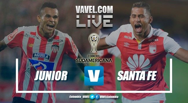 Atlético Junior vs Santa Fe en vivo online por Copa Sudamericana 2018