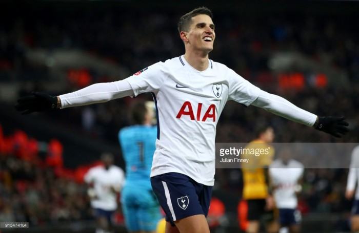 Tottenham 2-0 Newport County: Spurs cruise into the fifth round of FA Cup at second time of asking