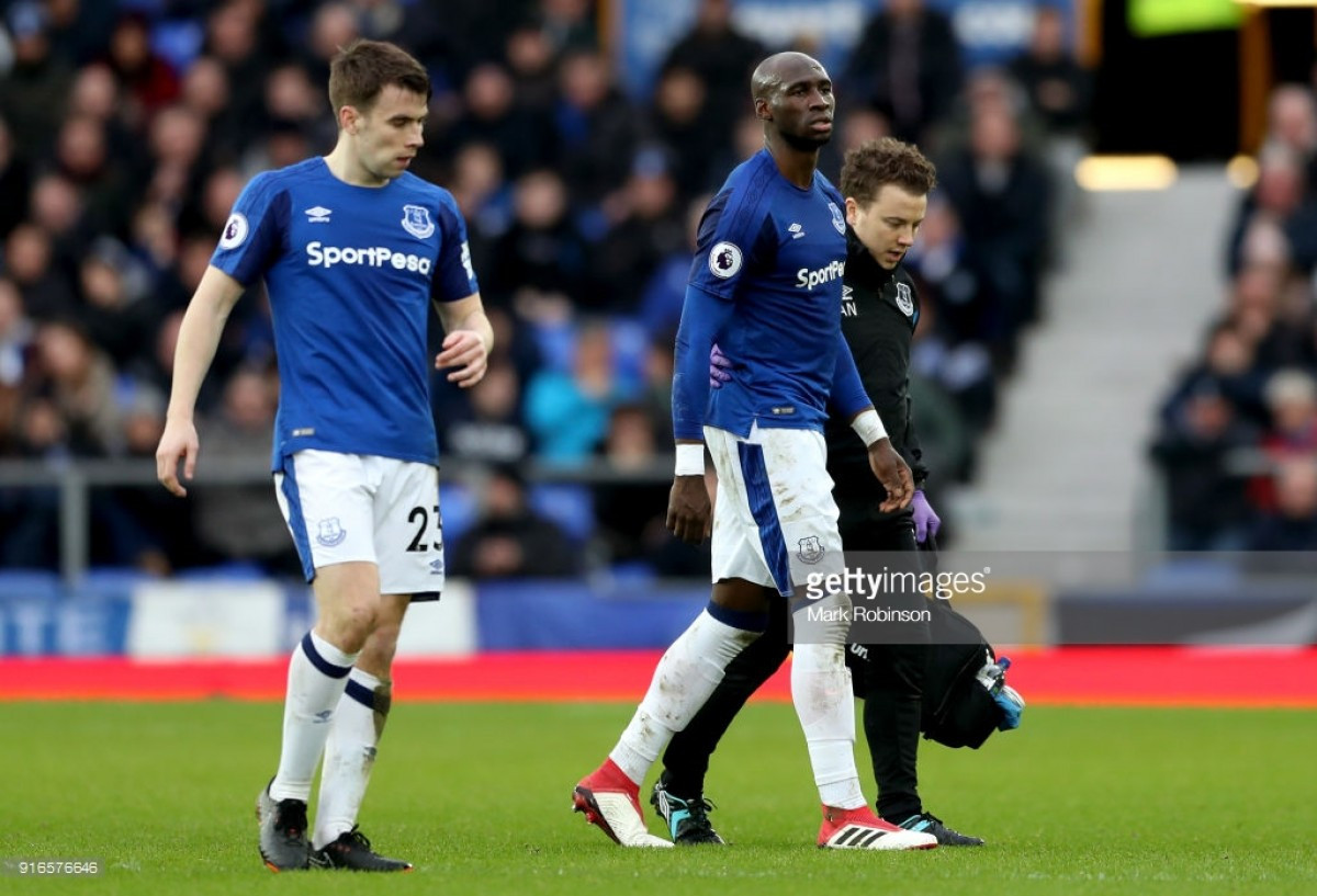 Everton harbour fears about Eliaquim Mangala injury whilst Baines and Funes Mori look set to return