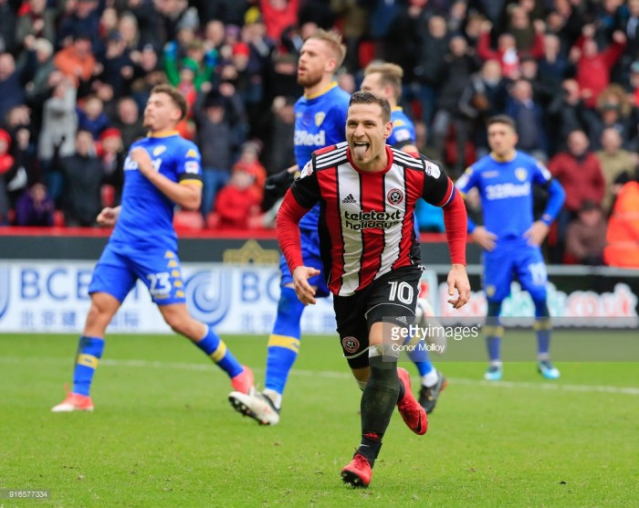 Sheffield United 2-1 Leeds United: Sharp double gives Blades league double over Leeds