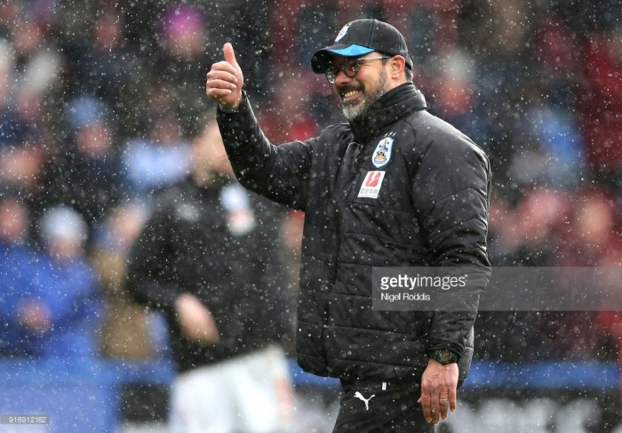 Huddersfield Town are building momentum says David Wagner