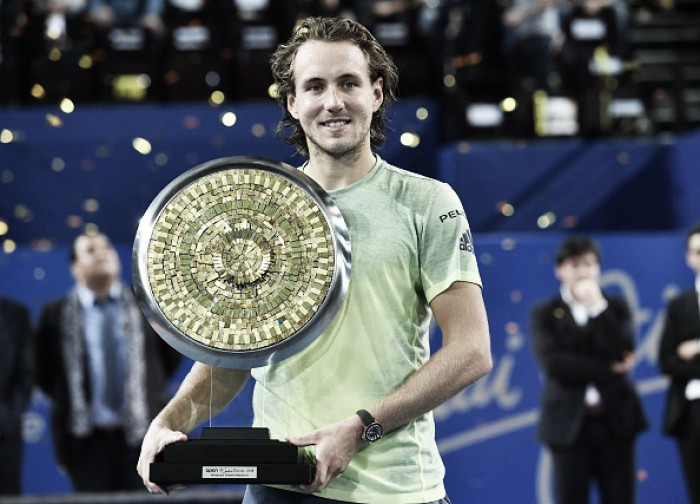 ATP Montpellier: Lucas Pouille tops Richard Gasquet for fifth ATP title