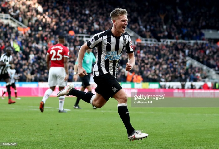 Newcastle United 1-0 Manchester United: Ritchie rockets Newcastle to safety positions against wasteful Red Devils