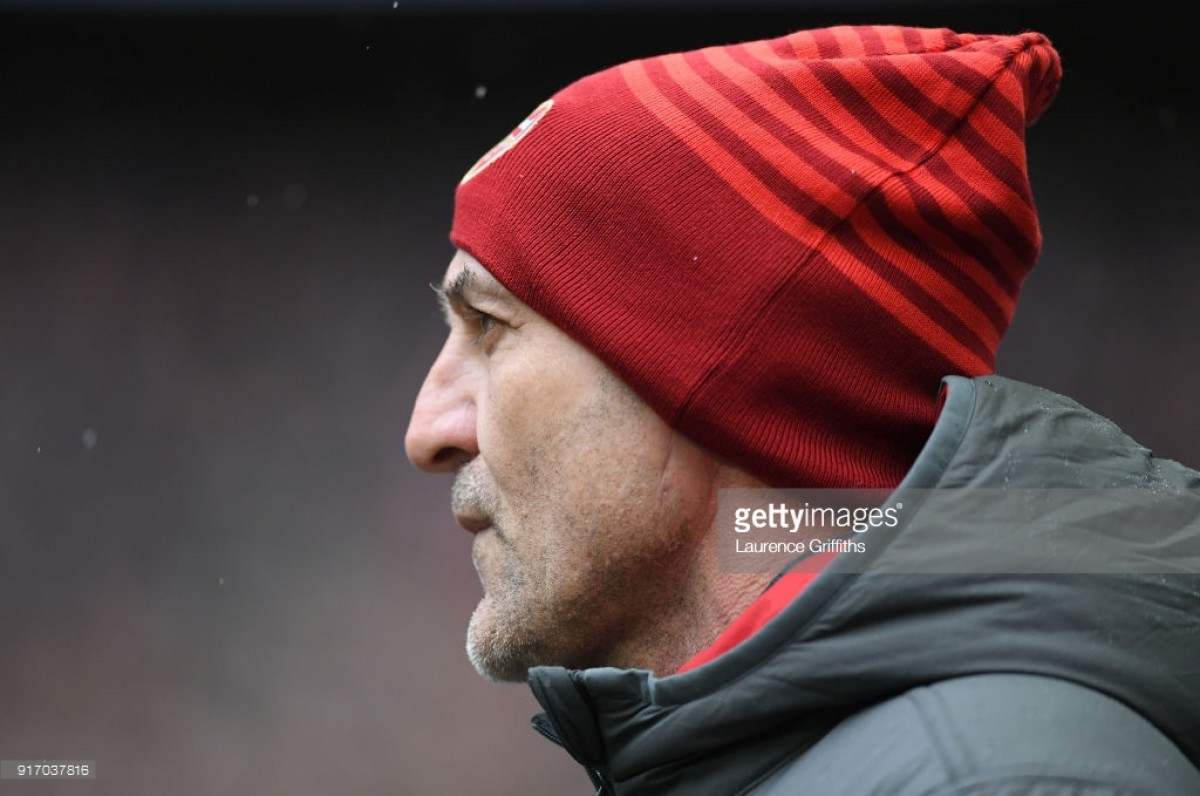 Bould gives updates on Lacazette and Wilshere in Wenger's absence ahead of Stoke City game