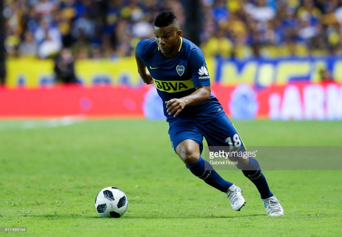 Everton interested in Boca Juniors full-back Frank Fabra
