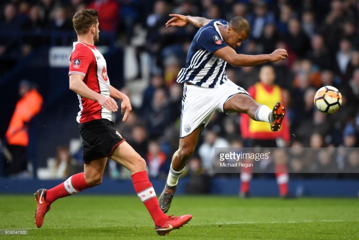 West Bromwich Albion 1-2 Southampton: Rondon wonder strike not enough for Baggies as Saints progress to quarter-finals