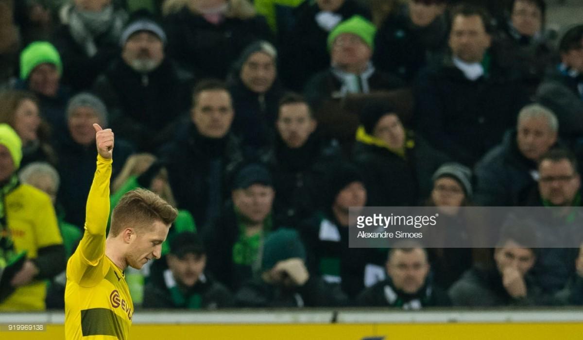Borussia Mönchengladbach0-1 Borussia Dortmund: Marco Reus punishes former side yet again