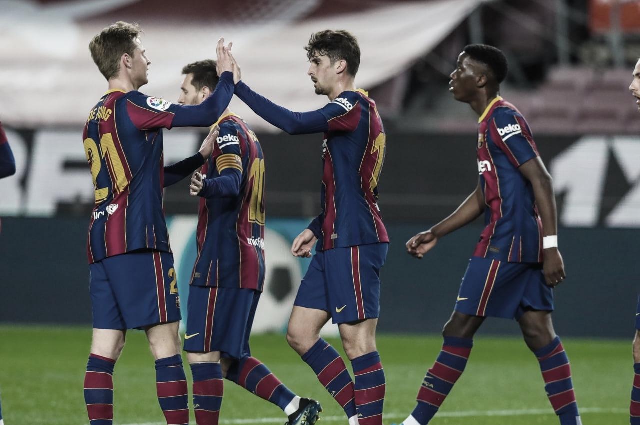 Análisis post: el Barça golea para espantar los miedos