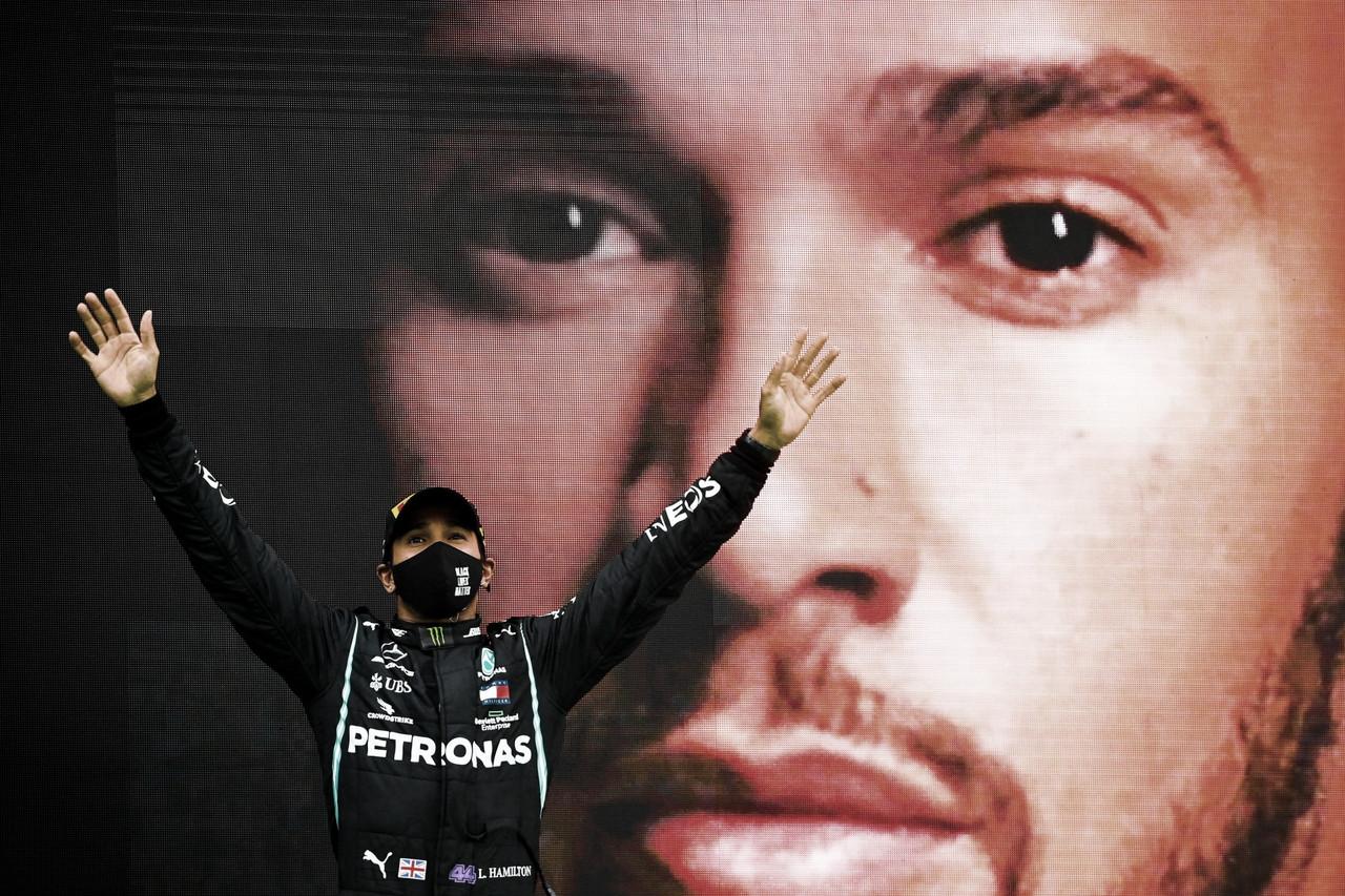 Lewis Hamilton, siempre el favorito para ganar. Fuente: Mercedes