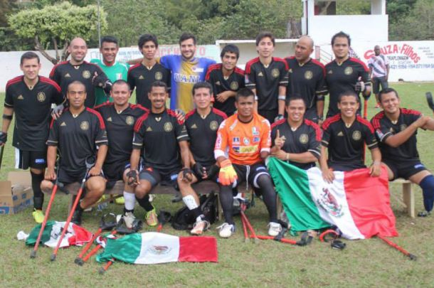 Selección Mexicana de Futbol en Muletas, subcampeona de América