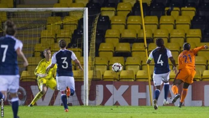 Scotland 0-7 Netherlands: Scotland's women taught Dutch lesson