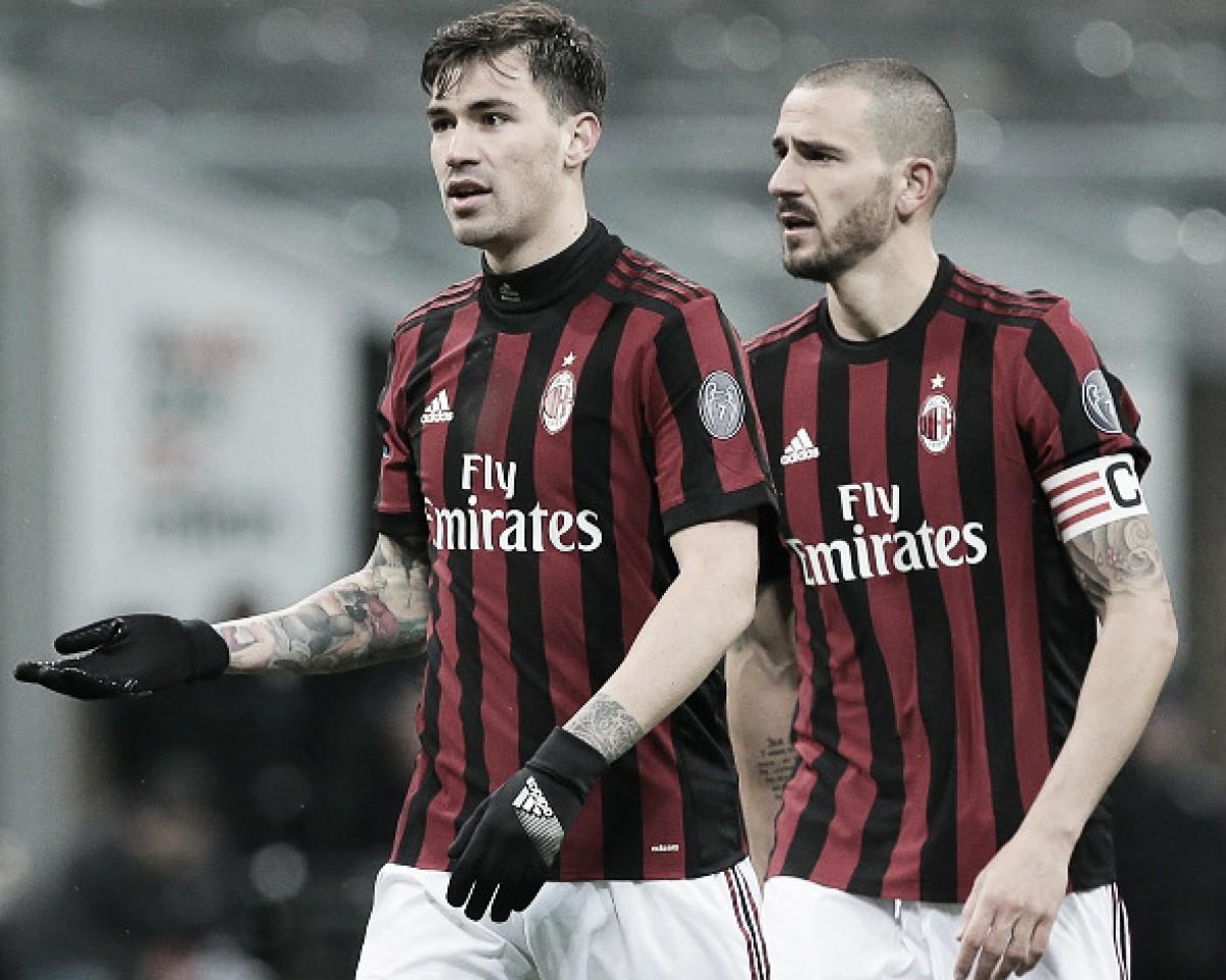 Sem Romagnoli e Bonucci, Milan terá zaga reserva contra Napoli