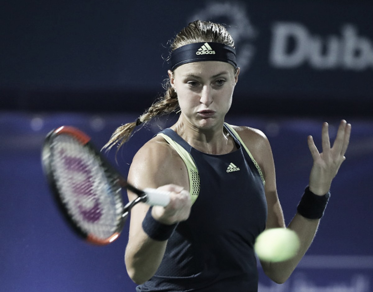 WTA Acapulco: Kristina Mladenovic overcomes Amandine Hesse in straight sets