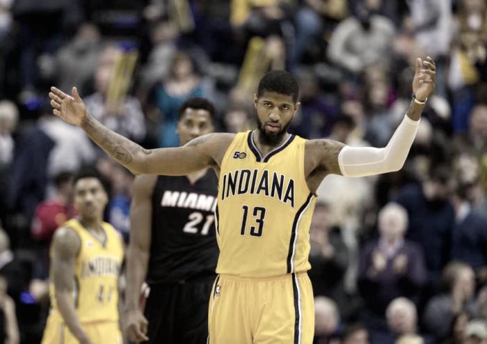 NBA - I ventotto punti di George guidano i Pacers alla vittoria