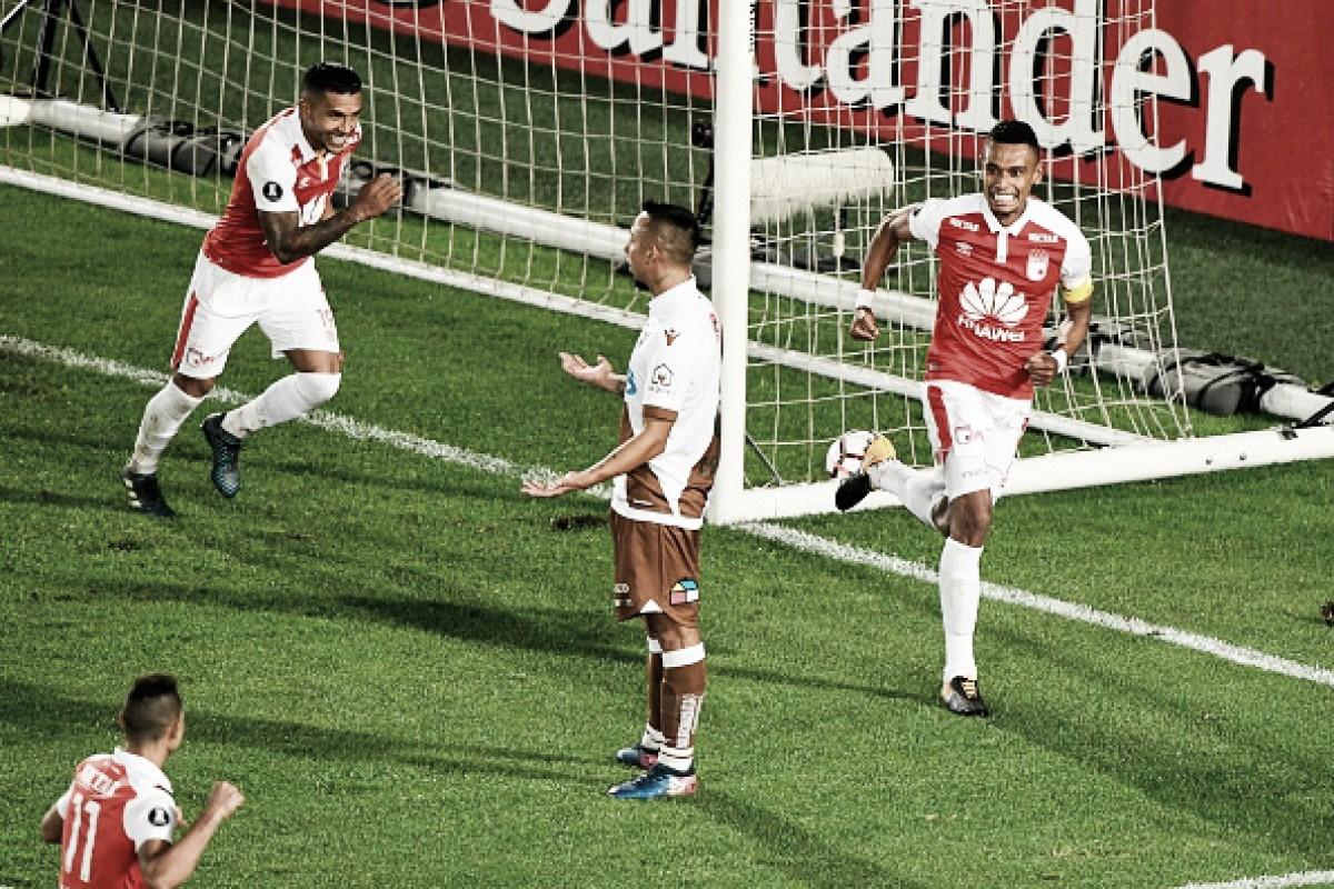 Santa Fé goleia Santiago Wanderers e garante vaga na fase de grupos da Libertadores