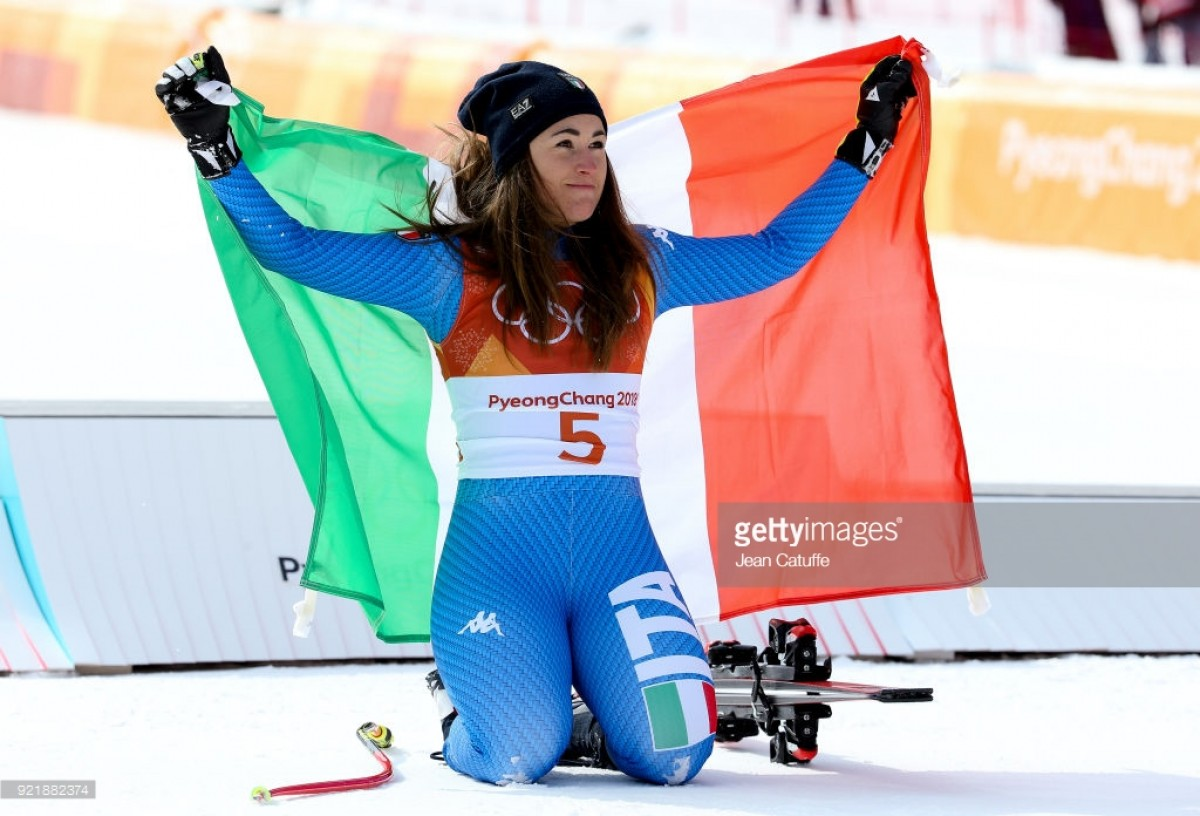 Goggia grabs downhill as Vonn settles for 3rd