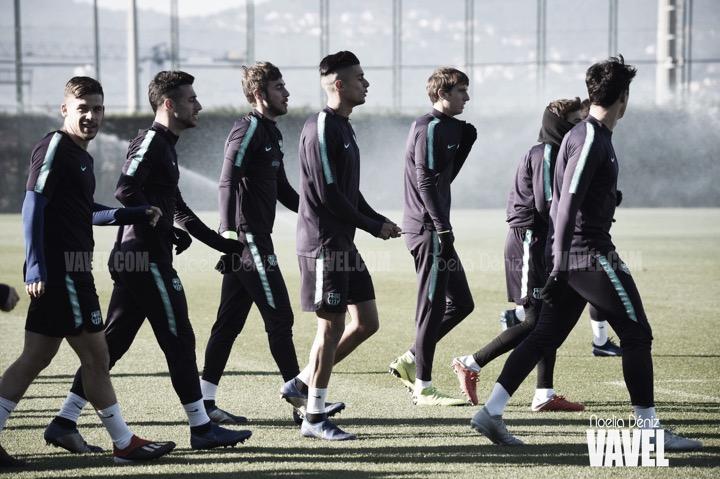 Último entrenamiento antes de recibir al Club Deportivo Castellón