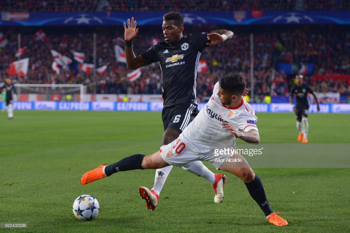 Sevilla 0-0 Manchester United: De Gea's heroics hands United the advantage ahead of second leg