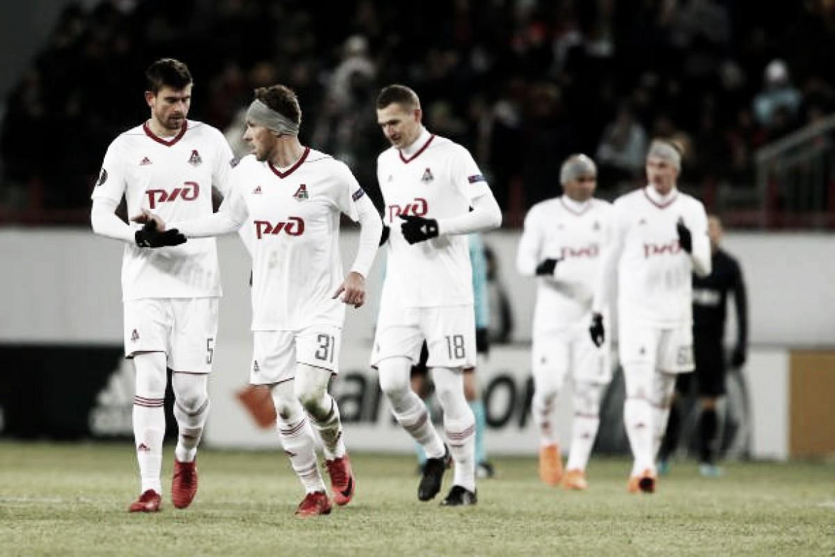 Lokomotiv joga para o gasto, vence Nice e se classifica às oitavas da UEL