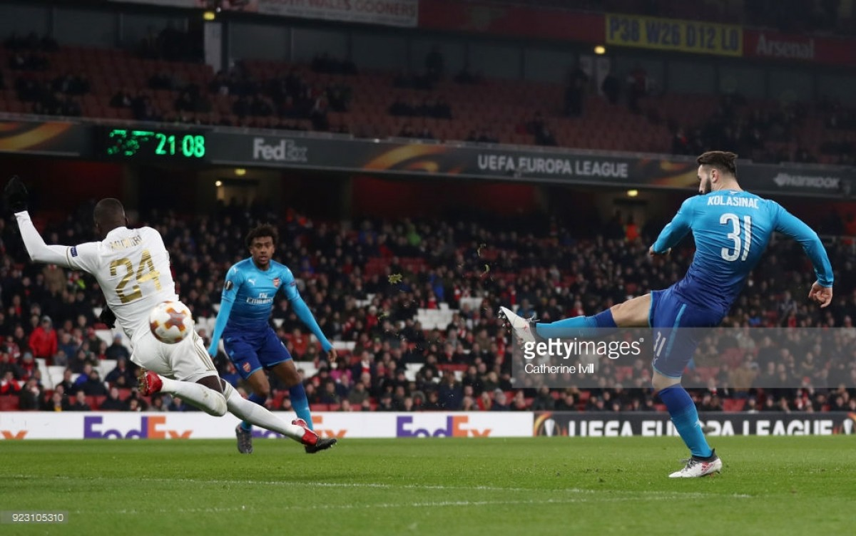 Arsenal (4) 1-2 (2) Ostersunds: Gunners survive early scare to progress despite embarrassment