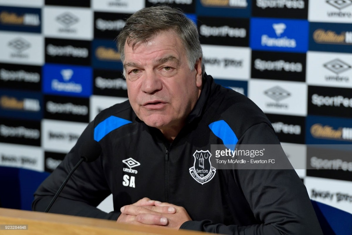 Sam Allardyce: Everton have to perform as well away from home as they do at home