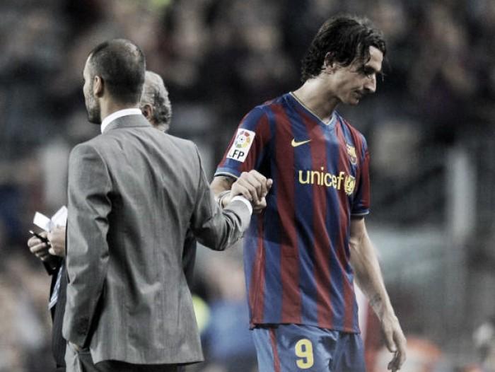 Desafeto no Barcelona, Ibrahimovic chama Guardiola de 'imaturo'