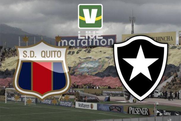Deportivo Quito x Botafogo, Copa Libertadores
