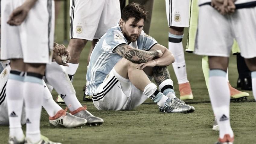 """El día que Messi casi pega el """"portazo"""""""