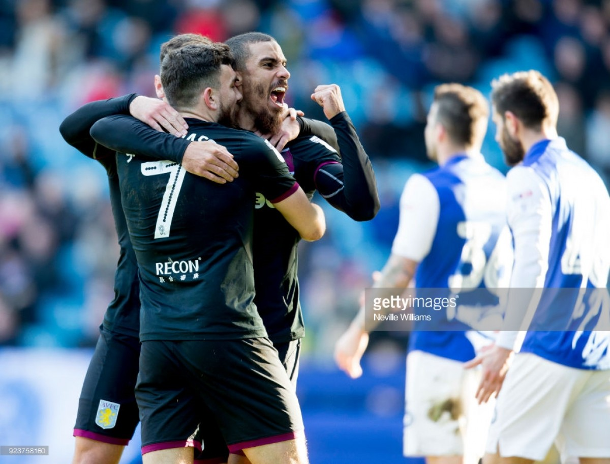Sheffield Wednesday 2-4 Aston Villa: Late strikes from Hourihane and Snodgrass seal Villans all three points