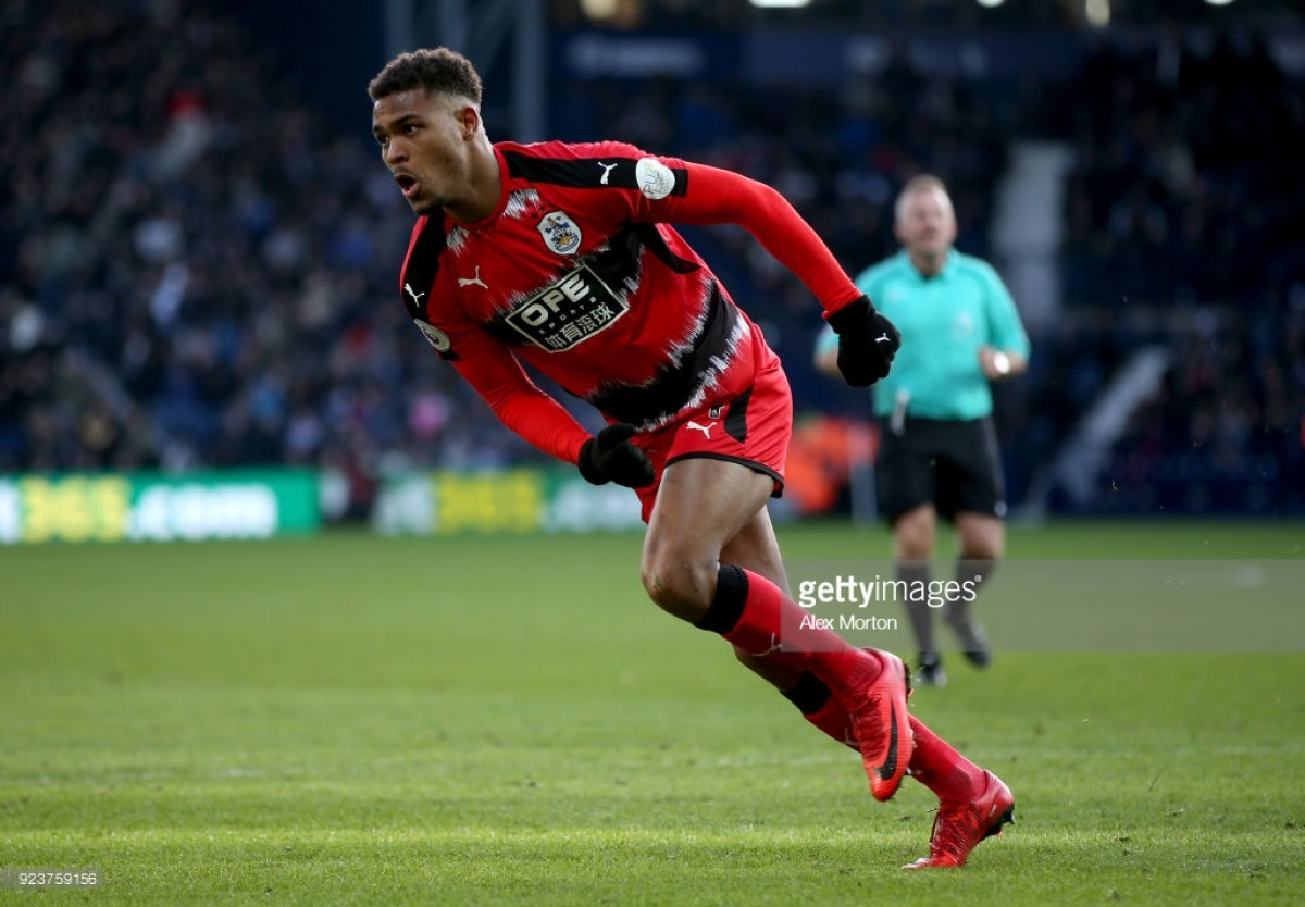 Steve Mounié wins Huddersfield's Player of the Month for February