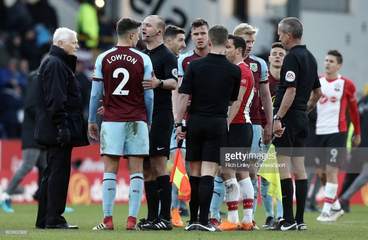 Analysis: Why poor game management cost Burnley victory against Southampton, not the referee