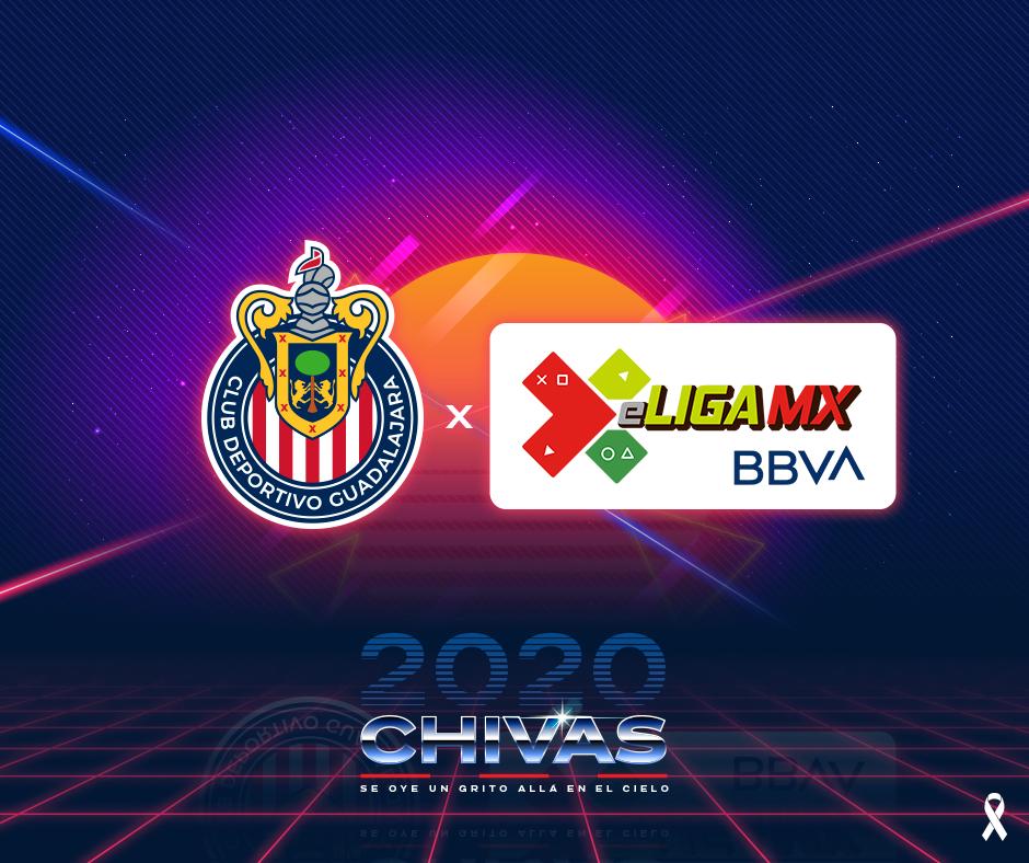 Chivas anuncia a sus jugadores para la eLiga MX