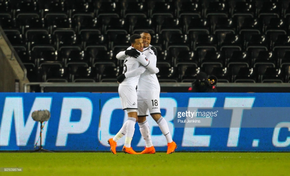 Swansea scrape past Wednesday into Cup quarters