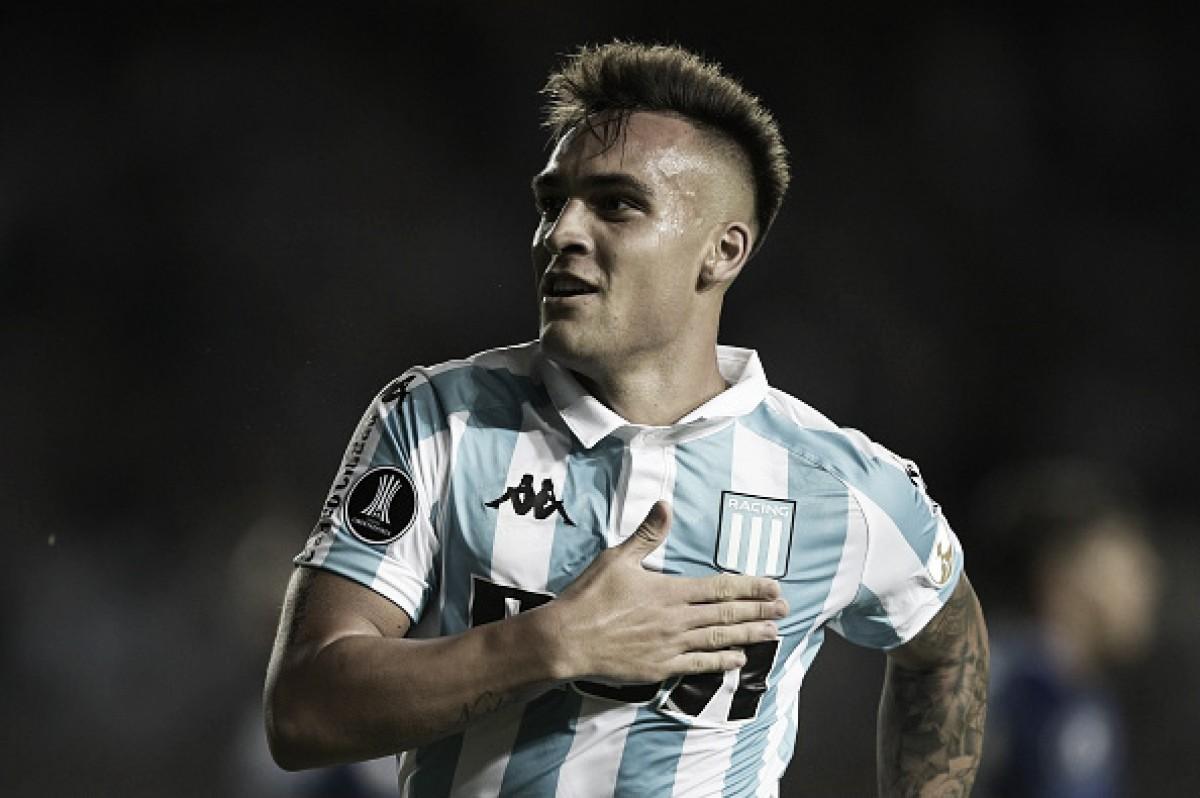 Lautaro Martínez no Inter de Milão, garante empresário do jogador
