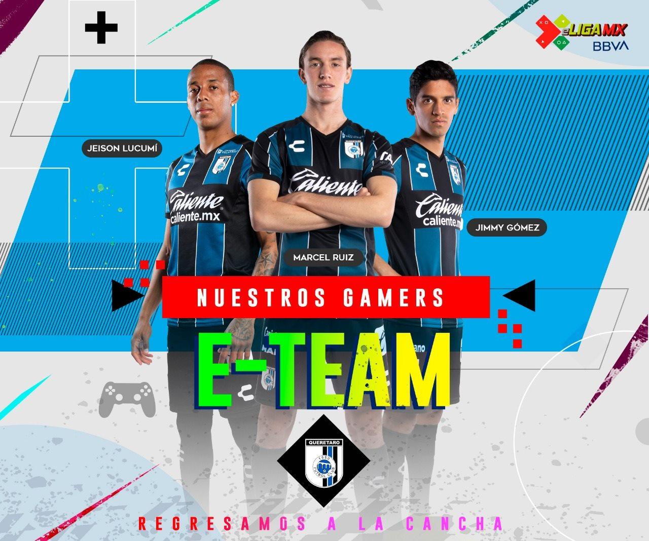 Querétaro da a conocer la lista de jugadores para la eLiga MX