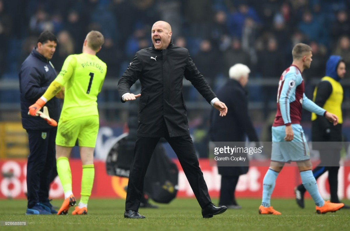 "Sean Dyche encourages his Burnley side to play with ""arrogance"" after meeting season target"