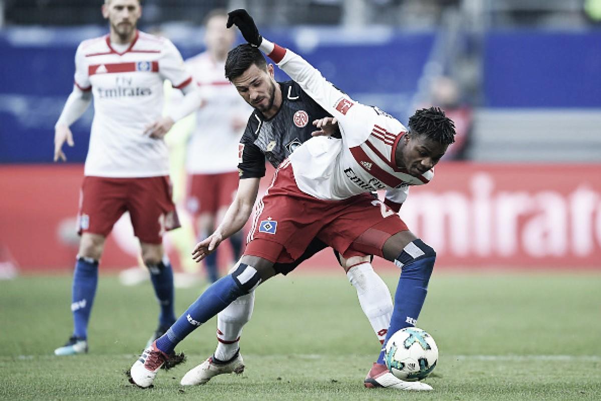 Em briga contra rebaixamento, Hamburgo e Mainz 05 empatam em partida sem gols