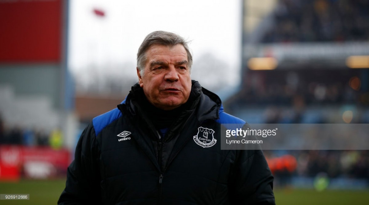 Sam Allardyce says he's held talks with Farhad Moshiri over his Everton future