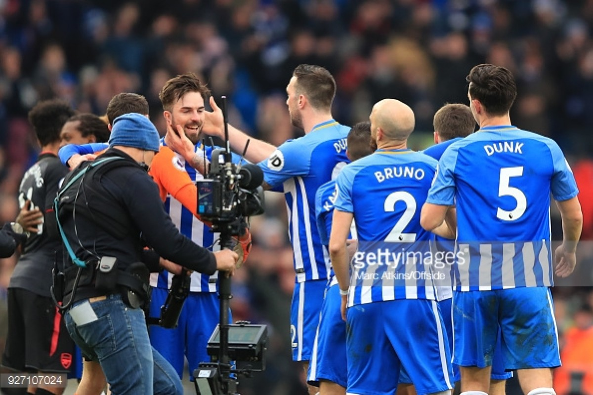 Brighton & Hove Albion player rating from momentous win over Arsenal