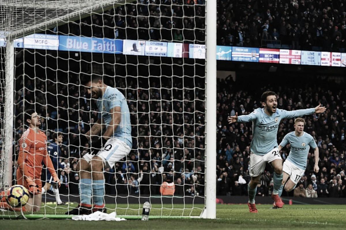 City supera Chelsea em casa e segue soberano no topo da Premier League