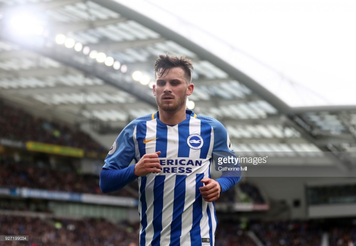 Pascal Gross learned quickly to 'enjoy' stellar debut campaign with Brighton